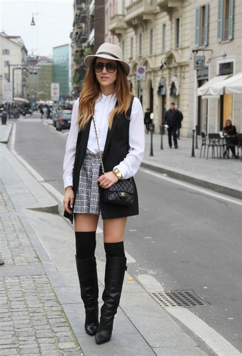 chic  stylish ways  wear   knee socks