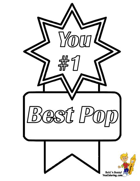 happy birthday pop coloring page big boss fathers day coloring pages yescoloring free