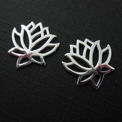 finding lotus sterling silver lotus flower lotus flower connector