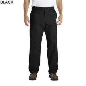 s comfort waist dickies industrial flat front comfort waist lp817