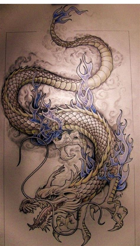 image result for dragon thigh tattoo dragons pinterest
