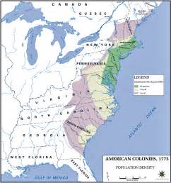 early united states and colonial history population