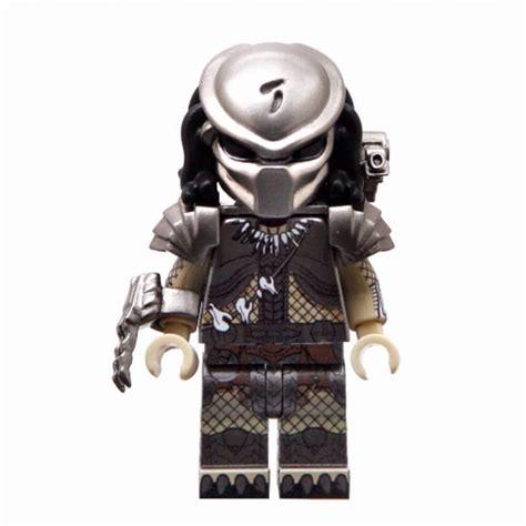 Brick Minifigure Predator predator lego inspired minifigure blocky six