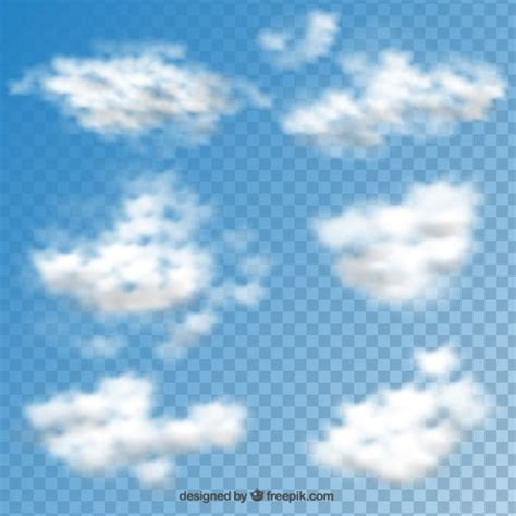 pattern psd cloud clouds collection vector free download