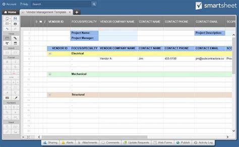 Definitive Guide To Vendor Risk Management Smartsheet Vendor Risk Management Template