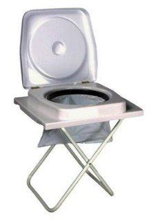 Small Camp Chair Portable Camp Toilet Camping Toilets