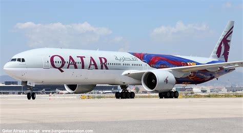 qatar airways qatar airways upgrades doha bangalore to boeing 777