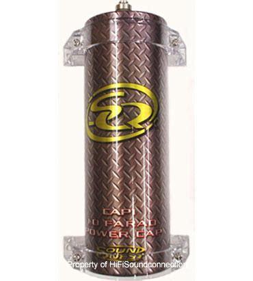 soundquest capacitor review sound quest cap1 car audio 1 farad power cap capacitor accessory cap1