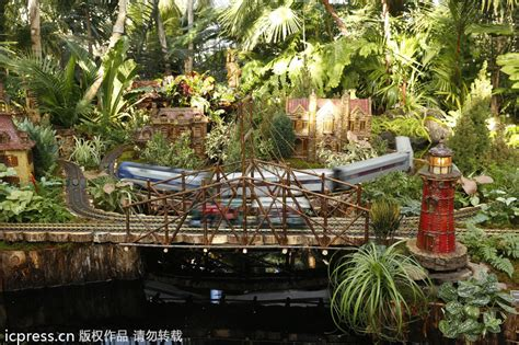 tibet house nyc holiday train show at botanical garden nyc 6 chinadaily com cn