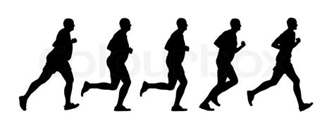 the s guide to health run walk runã run to health stock vector colourbox