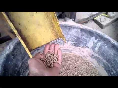 Mesin Pelet Apung Extruder mesin pellet apung test