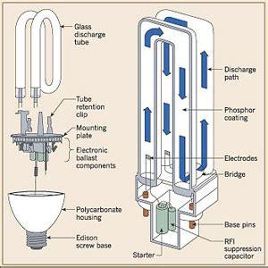 how do fluorescent light bulbs work compact fluorescent light types bulbs com