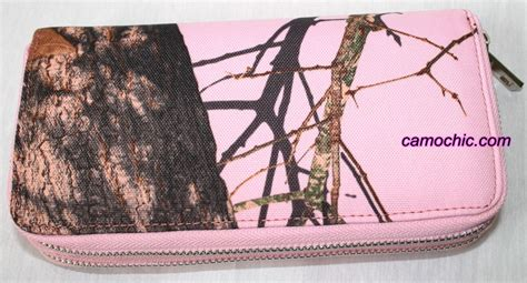 mossy oak pink camo clothing pink mossy oak camouflage zip around wallet