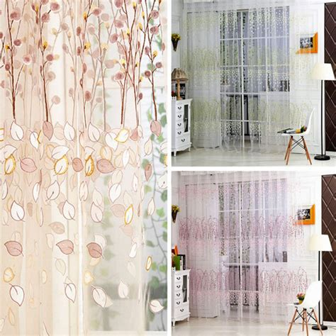 curtains for half window door wintersweet pattern half shading curtain for door window