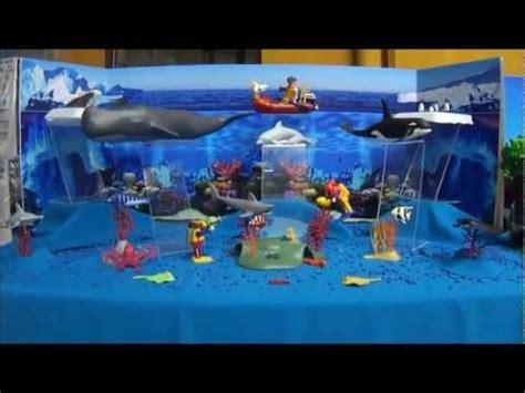 como hacer una maqueta del oceano diorama quot oc 233 anos y polos quot playmobil youtube