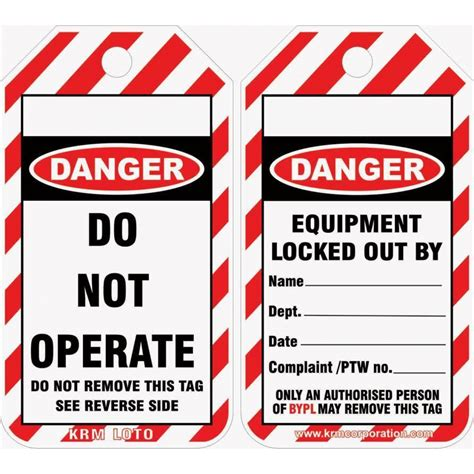 Lockout Tagout Www Pixshark Com Images Galleries With A Bite Lock Out Tags Template