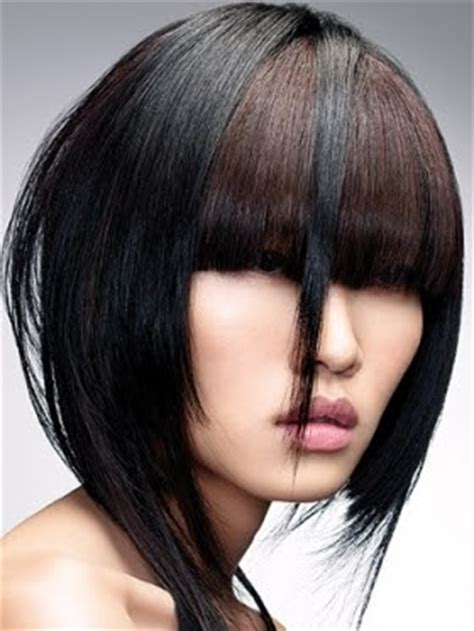would a diagonal bob look good on a heart shaped face hairspray and stilettos my favorite edgy looks for today