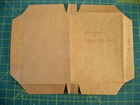 A Paper Book Cover - how to make shopping bag textbook covers in my own style