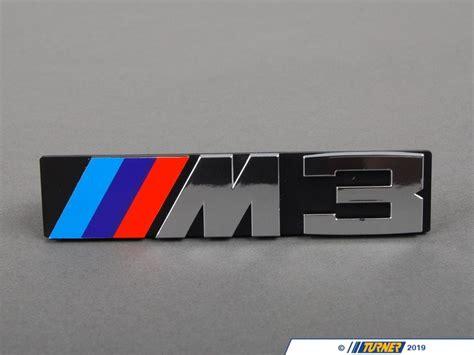 front grill emblem   turner motorsport