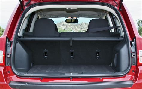 Jeep Cargo Space Cargo Space In Jeep Compass