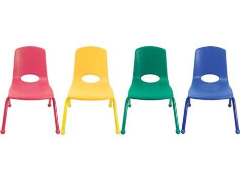 Preschool Chairs Ecr Poly Classroom Chair Colored Legs 12 Quot H Preschool Chairs