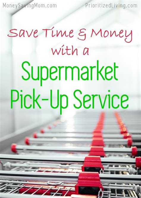 save major time and money with this grocery list template save time and money with a supermarket pick up service