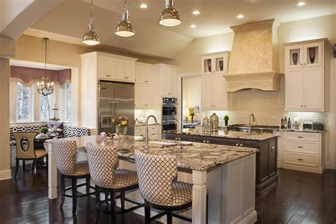 house plans with big kitchens moving up the most popular new home upgrades