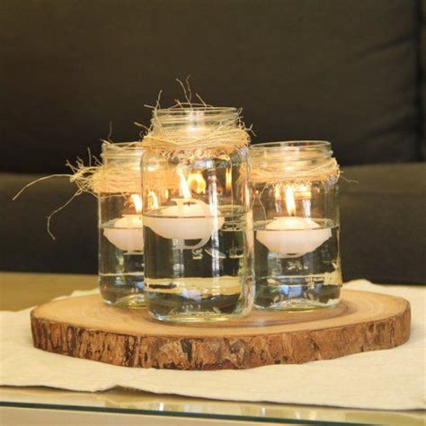 49 Best Images About Mason Jar Centerpieces On Pinterest Rustic Candle Centerpieces