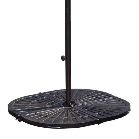 Patio Umbrella Base Weights Patio Umbrella Base Weights Antique Black Resin Weights