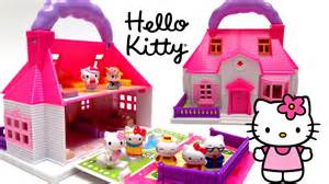 kitty mini doll house carry play casa 241 ecas transportable ハローキティ