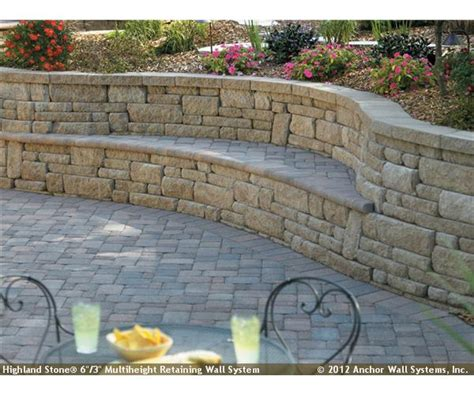 bench built into wall cool bench in retaining wall retaining wall ideas