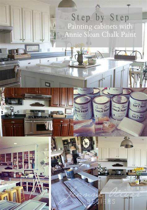 chalk paint kitchen cabinets tutorial 1000 images about annie sloan chalk painted kitchens on