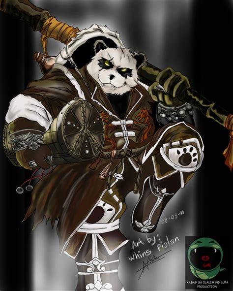 pandaren tattoo pandaren brewmaster by whins23 on deviantart games
