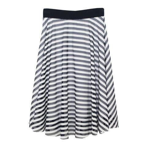 white swing skirt zapara navy white swing skirt pamela scott