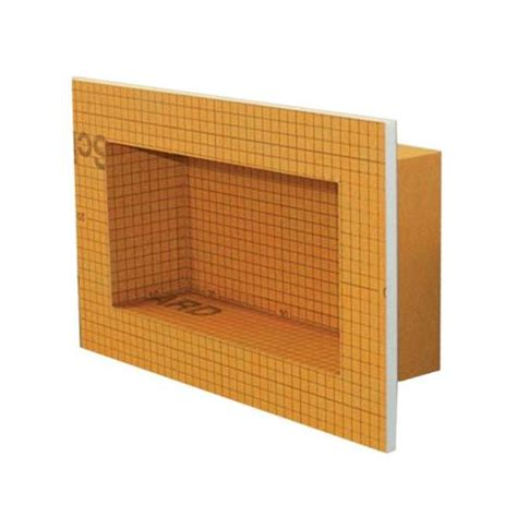 schluter kerdi board sn shower niches multiple sizes buy schluter kerdi board online