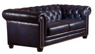 navy blue leather loveseat dynasty navy blue leather loveseat from amax leather