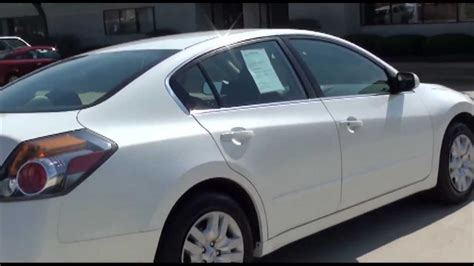 white nissan car 2010 nissan altima 2 5 s cvt sedan white excellence cars