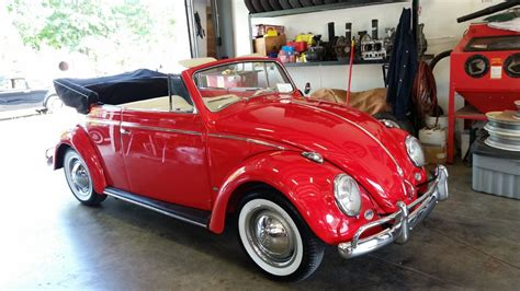 vintage volkswagen convertible vw bugs 1958 beetle convertible type 1 for