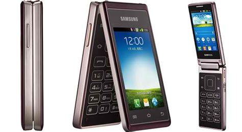 samsung hennessy   dual screen android flip phone