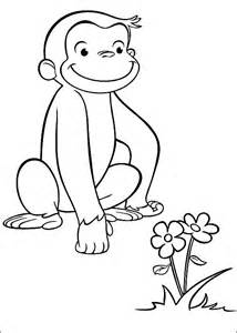 curious george coloring page curious george coloring pages free printable pictures