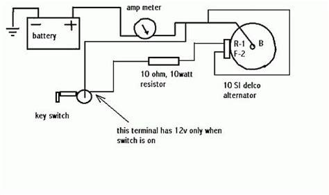 wiring diagram delco 10si alternator wiring diagram cs
