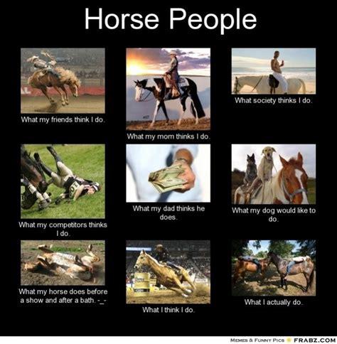 horse riding memes