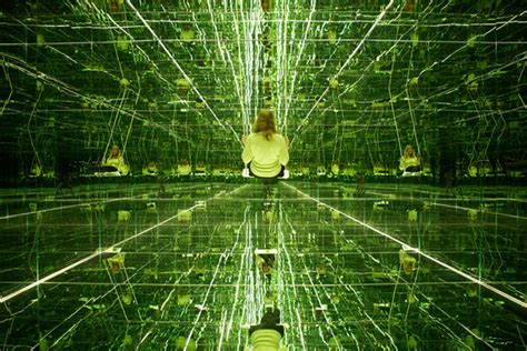 Room Of Mirrors by Swing To Infinity Inside Thilo Frank S Mirrored Room