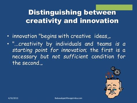 Creativity And Innovation Syllabus For Mba by Creativity And Innovation Ppt