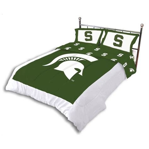 college covers michigan state comforter set i