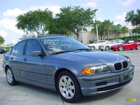 1999 bmw 323i 1999 steel blue metallic bmw 3 series 323i sedan 19747071
