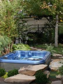 Hidden Backyard Pool Best Tub Landscaping Design Ideas Amp Remodel Pictures