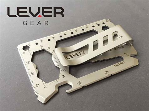 credit card multi tool the lever gear toolcard is a 40 in 1 multi tool that fits