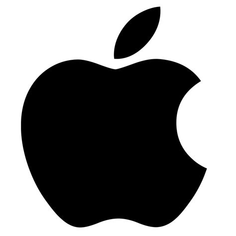 apple black image gallery new apple logo transparent