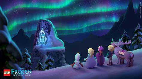 frozen wallpaper in malaysia frozen northern lights the ice castle wallpaper
